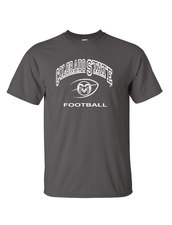 CSU Football Grey T-shirt